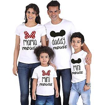 Aile Tişörtü, Mini Fare Baba Anne Kıyafetleri