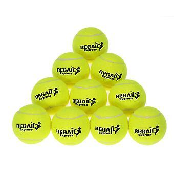 10pcs Tennis Balls Rubber Training Tennis Balls Women Tennis High Resilience
