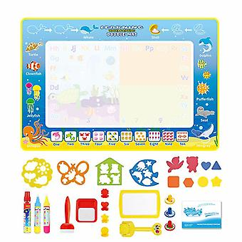 Magic doodle mat educational kids water drawing toys gift kt-5