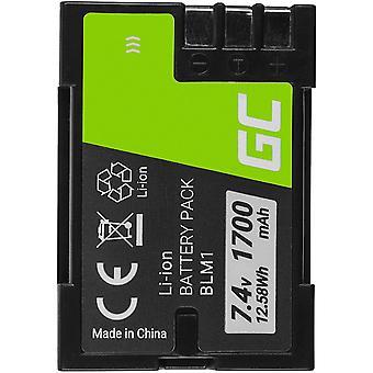 Wokex Grüne Zelle® BLM-1 BLM1 PS-BLL1 PS-BLM1 Kamera-Akku für Olympus Camedia E E-1 C-5060 C-7070