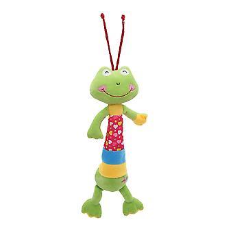 Lorelli baby muziek knuffelig speelgoed 36 cm lang, zacht pluche, diverse figuren