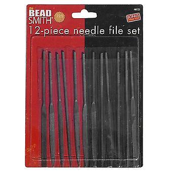 Beadsmith Needle Files - Set of 12 - Langan kääre!