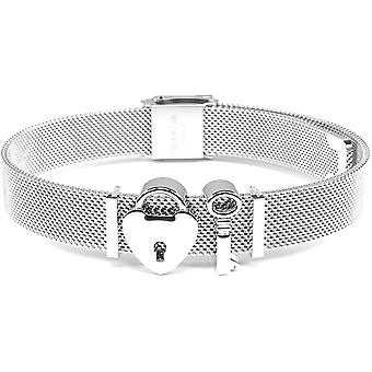 FengChun - Einfachheit Linie   Mesh Armband Damen   Charmband Set   Individuelle Anhnger Charms fr