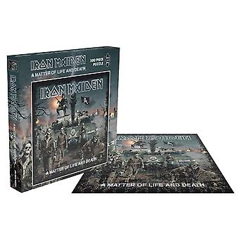 Iron Maiden Jigsaw Puzzle A Matter Of Life And Death Official Black 500 Piece