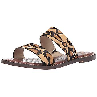 Sam Edelman Women's Shoes Gala Leather Open Toe Casual Slide Sandals