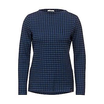 Cecil 315711 T-Shirt, Deep Blue, L Woman