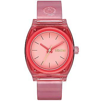 Nixon Women's Time Teller Pink Dial Watch - A1215-685