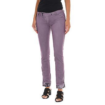 MET pantalones de mujer X-doble-ajuste violeta
