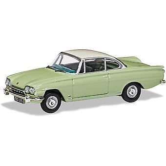 Corgi Ford Consul Capri 335 Lime Green & Ermine White Diecast Model