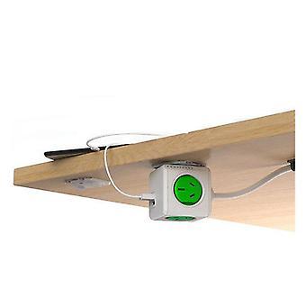 Allocacoc 4 Way Surge Protector cu USB