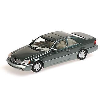 Minichamps 430032604 Mercedes Benz 600 SEC 1992 Green Metallic 1:43 Scale