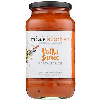 Mias Køkken Sauce Pasta Vodka, sag af 6 X 25,5 Oz