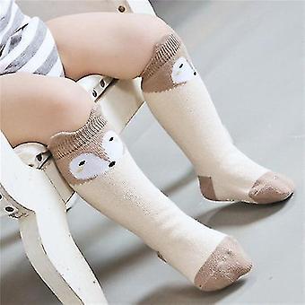 Bavlněné kreslené dětské ponožky unisex novorozenecké oblečení příslušenství