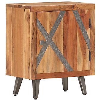 vidaXL Yöpöytä 40×30×50 cm Acacia Massiivipuu
