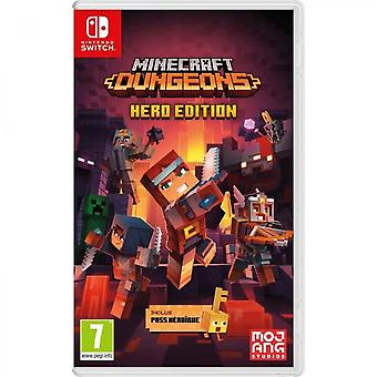 Minecraft Dungeons - Hero Edition (heroic Pass Included) - Nintendo Switch Game