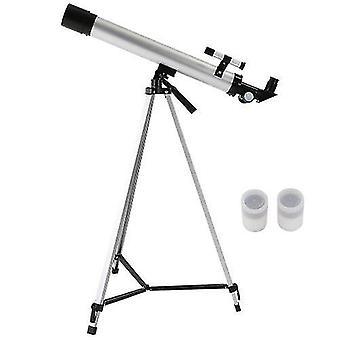 Monokulárny vonkajší 100x zoom teleskop 600x50mm refrakčný vesmírny teleskop monokulárny rozsah pozorovania náklonu so statívom