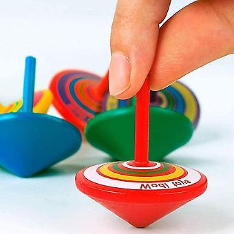 15 Kreisel für Kinder Holzkreisel als Mitgebsel für Kindergeburtstag oder Gastgeschenke kleine