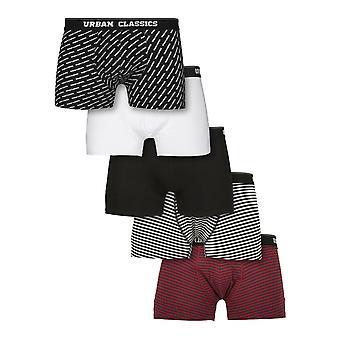 Urban Classics - Boxer Shorts 5 Pack multi