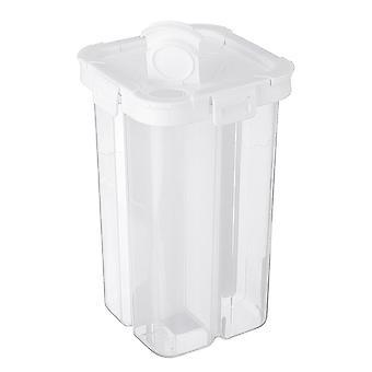 Lebensmittel Aufbewahrungsbox Fächer Snack Abnehmbarer Kunststoffbehälter Küchenkoffer