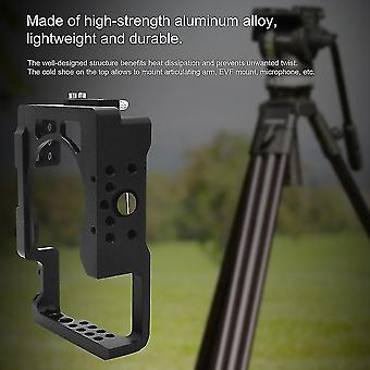 Aluminum Alloy Camera Cage For Sony A6500 Ildc Camera Cage Protective Frame