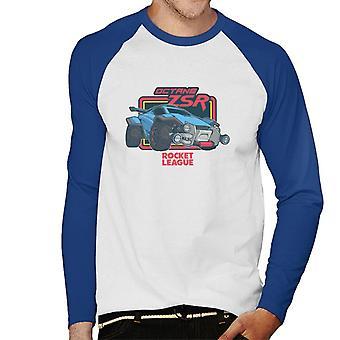 Rocket League oktan ZSR Herr Baseball Långärmad T-Shirt
