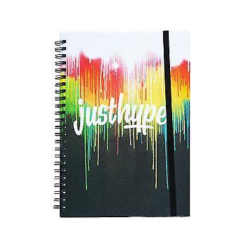 Hype Paint Drip A5 Notebook