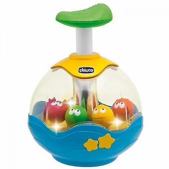 Elektronisk akvarium spinning top