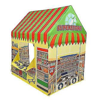 子供スーパーストアテント屋内と屋外おもちゃプレイハウスプレイテント