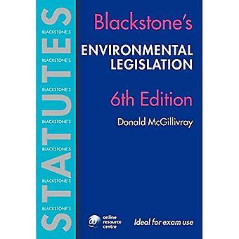 Blackstone's Environmental Legislation (Blackstone's Statute Book)