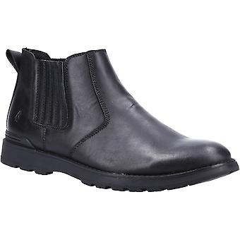 Hush Puppies Mens Gary Leather Slip On Chelsea Boots