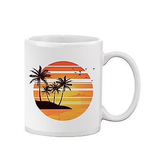 Palms In The Sunset Mug -SPIdeals Designs