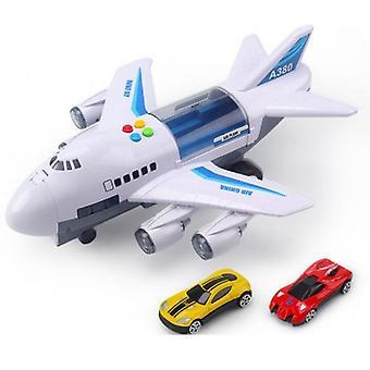 Lentokonesimulaatio valoilla Musiikkiraita Inertia Lelu lentokone Suurikokoinen Matkustajalentokone Lapset Lentokone LeluAuto Lahjat Valkoinen