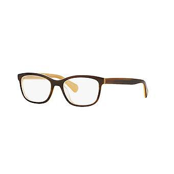 Eyeglasses oliver peoples follies ov5194 1281 tortoise cream glasses