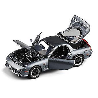 Leketøy biler 1:32 leketøy bil mazda rx7 sportsbil legering bil