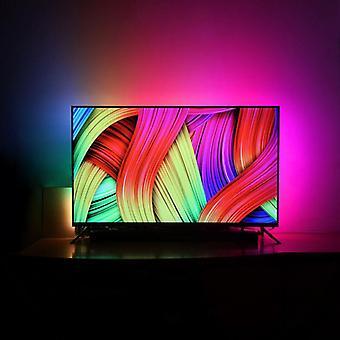 Diy Tv Traum Bildschirm USB Led Streifen Hintergrundbeleuchtung Gürtel Computer Display Fantasy Dekorative LED-Lichter Neon 1/2/3/4/5m Led Strip Hot!!!