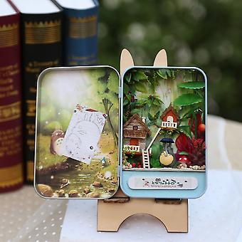 Diy Mini Nukkekoti Lelu 3d Puinen Design Lapset Lasten Tytöt Huonekalutalo