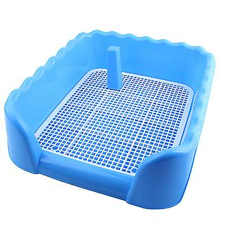 Indoor Dog Puppy Plastic Potty Training Dog Toilet With Fence And Target Pet Pee Toilet