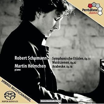 R. Schumann - Schumann: Symphonische Etuden, Op. 13; Waldszenen, Op. 82; Arabesque, Op. 18 [SACD] USA import