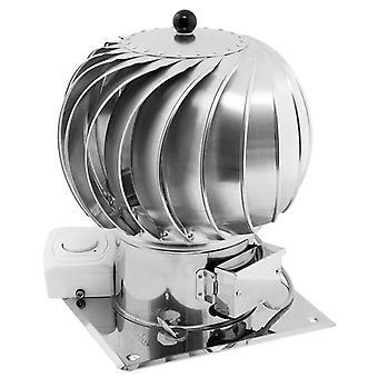 Stainless Steel Ventilation Hybrid Chimney Cowl Electric Motor 150mm 200mm
