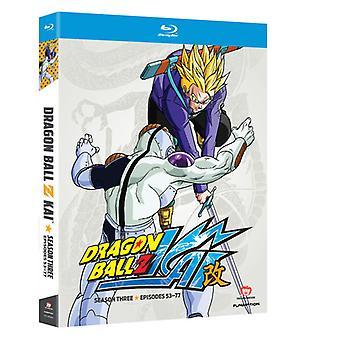 Dragon Ball Z Kai: Saison 3 [BLU-RAY] USA import