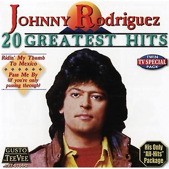 Johnny Rodriguez - 20 Greatest Hits [CD] USA import