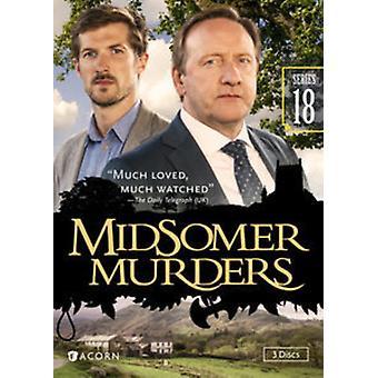 Midsomerin murhat: Sarja 18 [DVD] Yhdysvallat tuoda