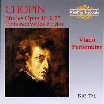 F. Chopin - Chopin: Etudes opus 10 & 25; Importer des trois Nouvelles Tudes [CD] é.-u.