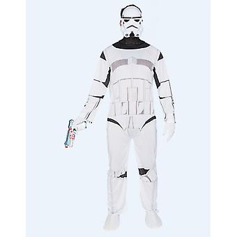 Galactic soldier costume space guard mens one size