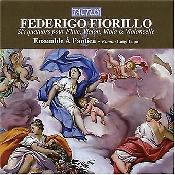 E. Fiorillo - Federigo Fiorillo: Six Quatuors Pour Flute, Violin, Viola & Violoncelle [CD] USA import