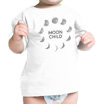 Månen barn Baby første Halloween kostymer spedbarn grafisk t-skjorte gave