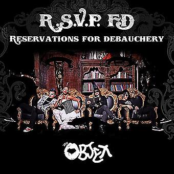 Objex - varaukset irstailu [CD] USA tuonti