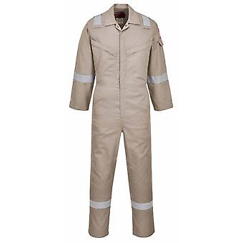 sUw - Araflame Hi-Vis Safety Workwear Silver Coverall