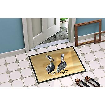 Carolines Treasures  8408-MAT Pelican  Indoor or Outdoor Mat 18x27 8408 Doormat