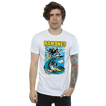 Camiseta de Ramones hombres playa de Rockaway